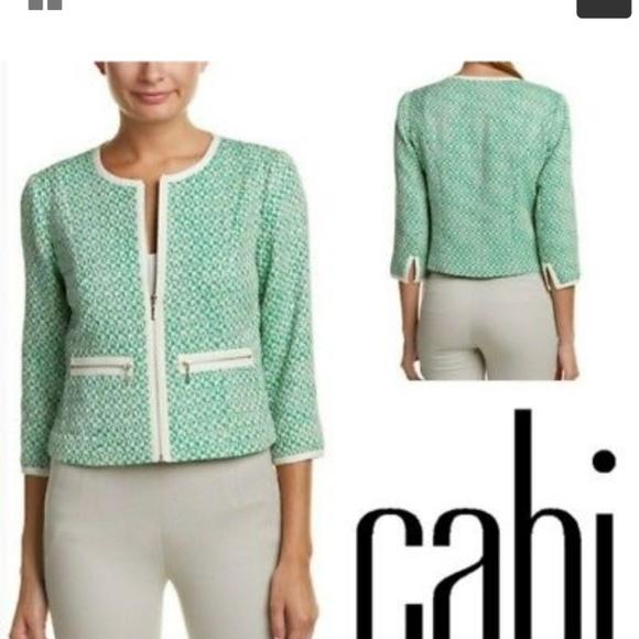 CAbi Jackets & Blazers - CABI #726 Clover Tweed Cropped Blazer Jacket